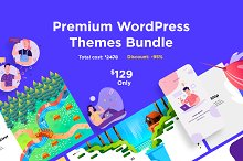 38 Premium WordPress Themes Bundle by  in Business
