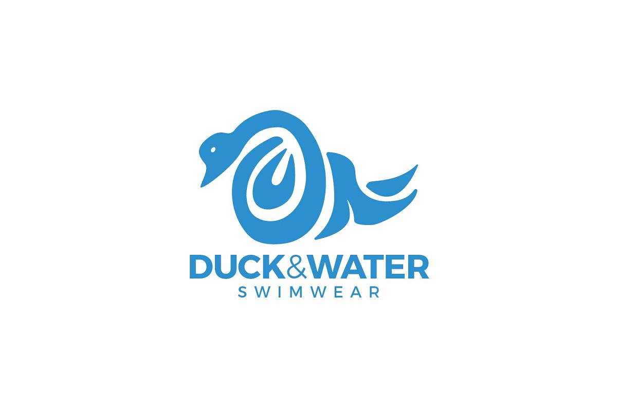Duck and Water Swimwear Logo