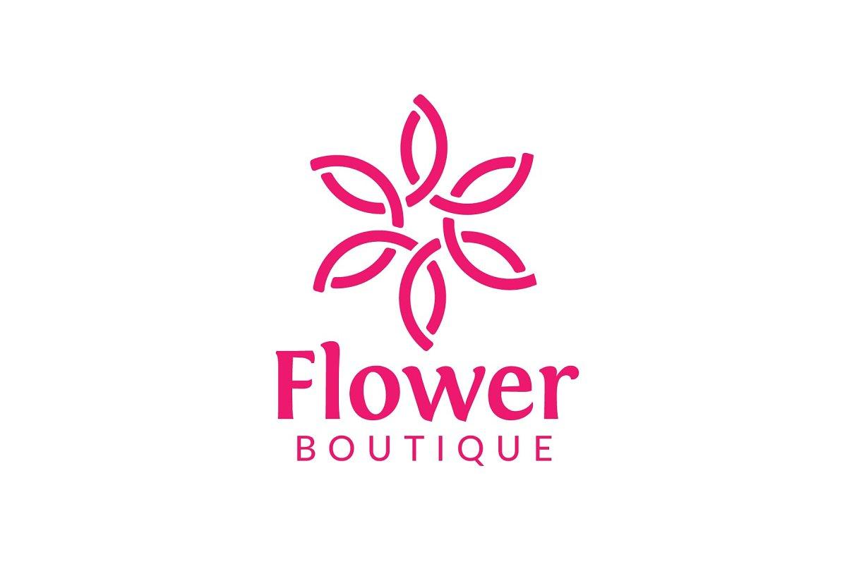 Flower Boutique Logo