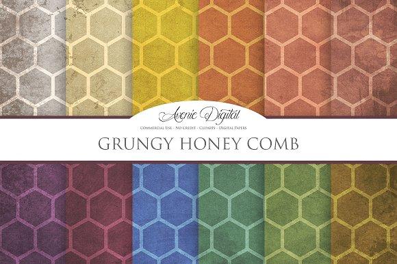 Grungy Honeycomb
