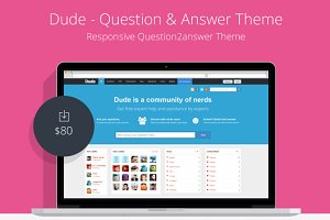 Dude - Question and Answer Theme