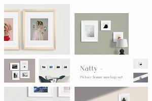 Natty - Picture Frame Mockup Set