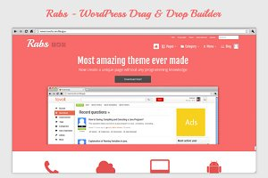 Rabs - Wordpress Drag & Drop Builder