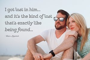 Love Quote Overlay for Photos