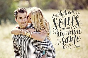 Love Photo Overlay Word Quote Soul