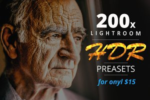 200 HDR Lightroom Presets