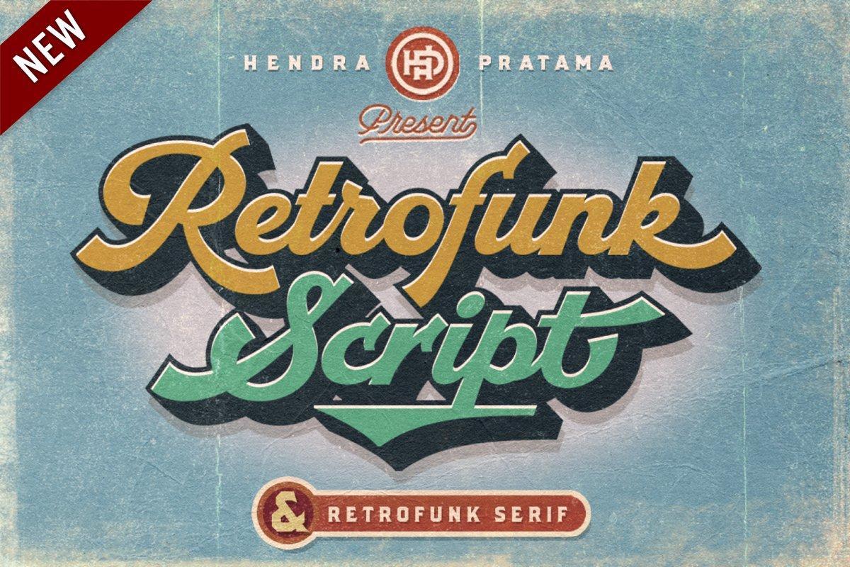 Groovy - Retro Font in Script Fonts