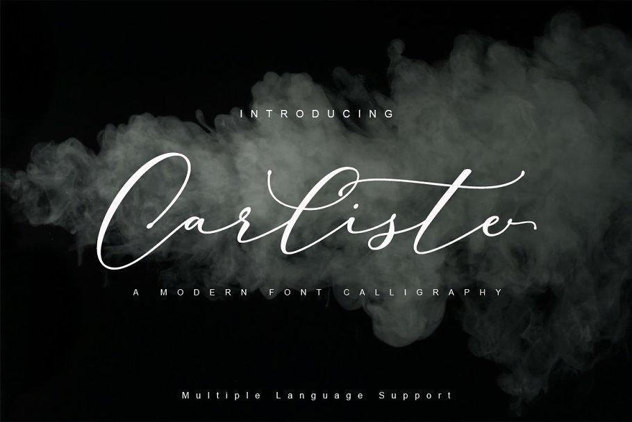Carliste Script