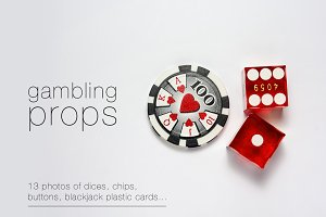 Gambling Props - 13 Photos Pack