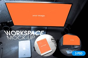 Workspace mock-up