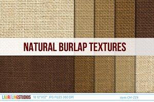 rustic burlap digital paper