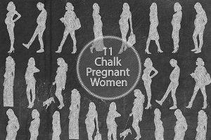 Chalk Pregnant Women