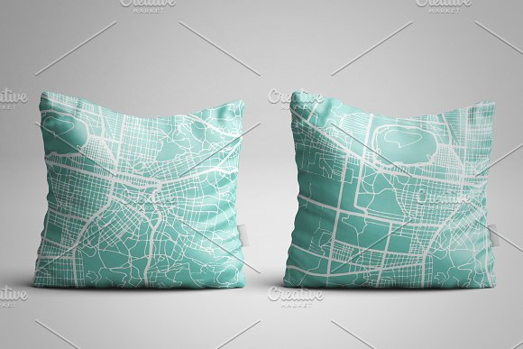 Mulhouse France City Map in Retro in Illustrations - product preview 3