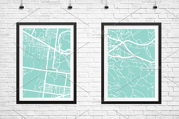 Mulhouse France City Map in Retro in Illustrations - product preview 4