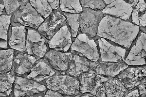 Texture of old stone wall