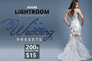 200 Lightroom Wedding Presets