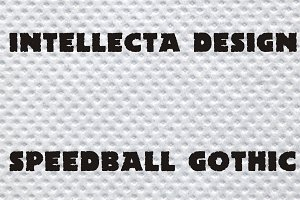 SpeedBall Gothic