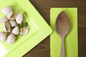 clam dish prepared
