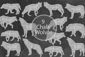 Chalk Wolves