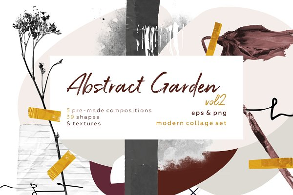 514b2a524c5e Graphic Objects - Abstract garden ...