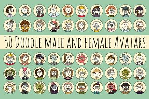 Doodle Avatar Collection