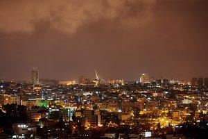 Jerusalem Bridge at Night