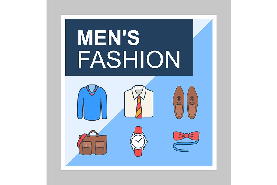 Mens fashion blog social media posts