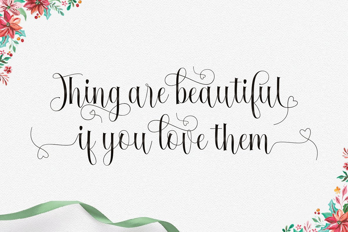 Fantastic in Script Fonts
