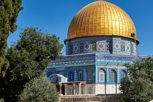Jerusalem. Dome of the Rock.