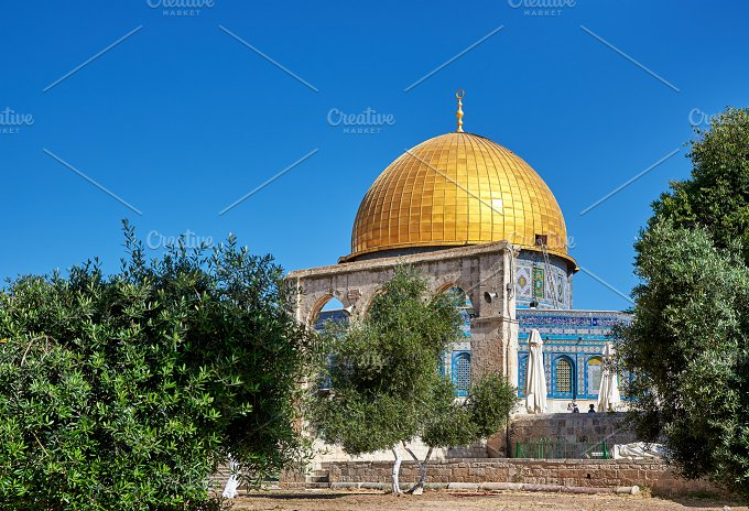 Jerusalem. Dome of the Rock. - Architecture