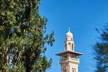 Minaret on the Temple Mount