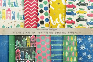 Christmas on 7th Avenue Papers
