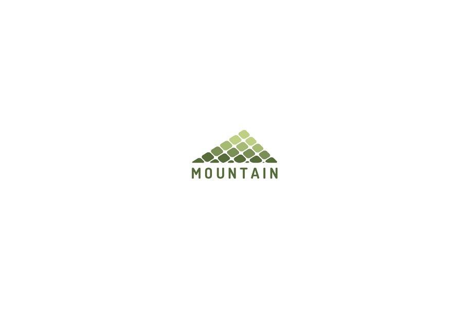 082b508d2b Mountain Logo ~ Logo Templates ~ Creative Market