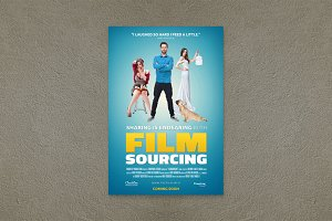 Comedy Movie Poster Template
