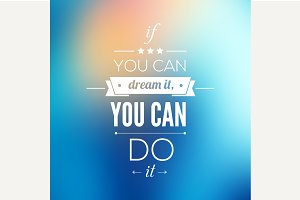 You can do it Quote Typographical