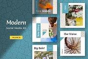 Modern Social Media Kit (Vol. 25)
