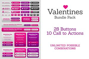 Valentines Day UI Bundle Pack