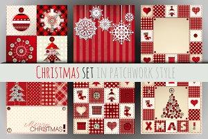 Christmas vector set.
