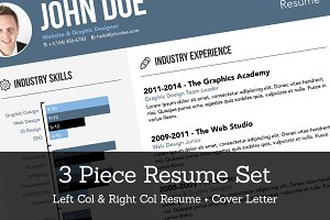 Creative Resume Set
