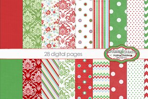 Ho Ho Christmas 28Digital Papers