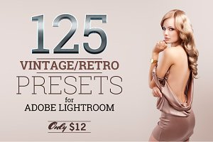 125 Lightroom Vintage/Retro Presets
