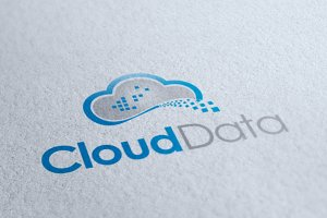 Cloud Data Logo