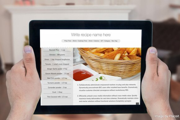 Cookbook Template for iBooks Author ~ Templates ~ Creative Market