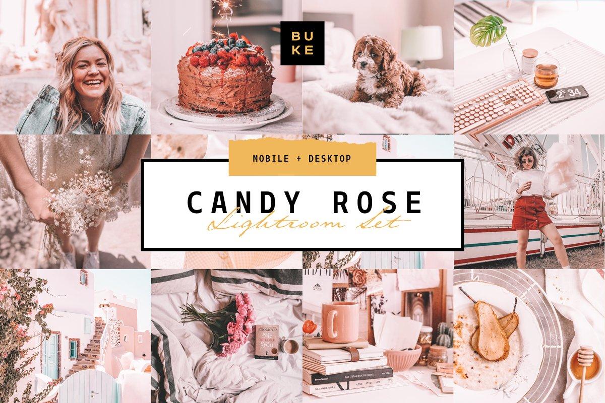 Candy Rose Lightroom Presets Bundle