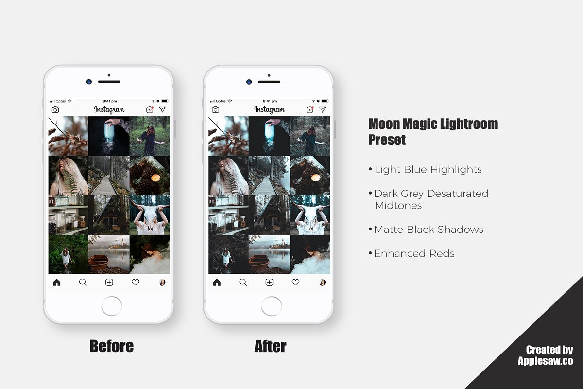 Moon Magic Lightroom Preset in Add-Ons - product preview 5