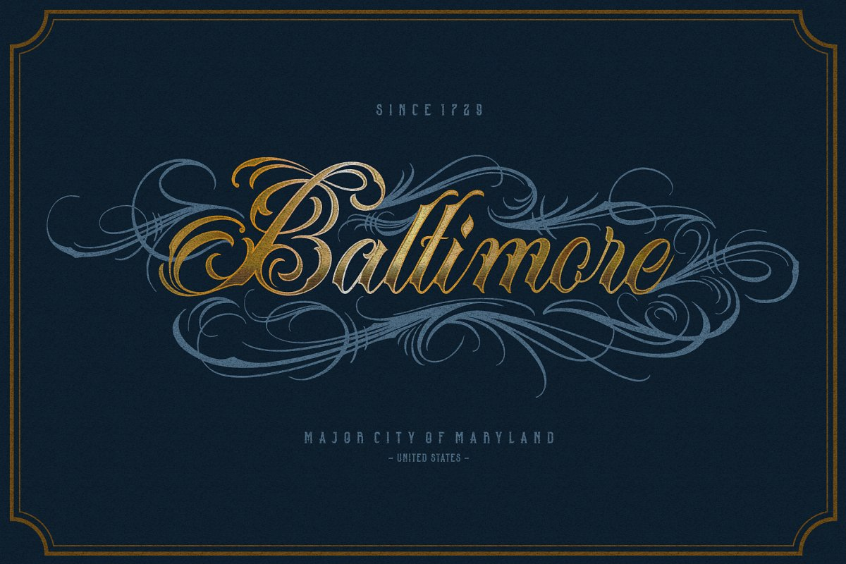 Acuentre (Update - Ornaments) in Script Fonts - product preview 8