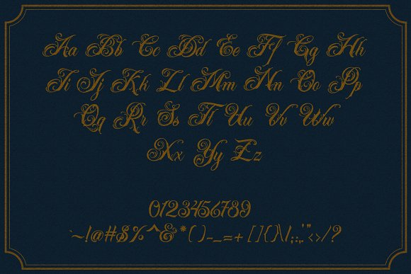 Acuentre (Update - Ornaments) in Script Fonts - product preview 5