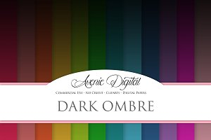 Dark Ombre Backgrounds
