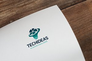 Tech IT Idea Logo