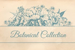 Botanical Flowers Collection